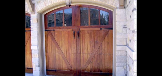 Overlay Coach House Doors